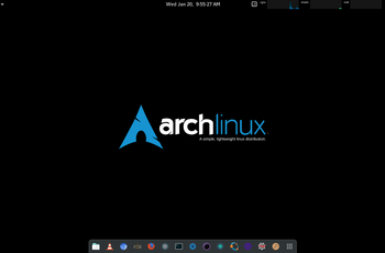 Arch Linux 2018.07.01 ISO cu Linux Kernel  4.17.3 gnulinux.ro