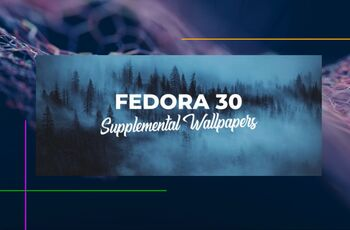 Fedora 30 supplemental wallpapers  gnulinux.ro