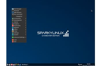 Editii speciale Sparky 2020.08 - GameOver, Multimedia & Rescue gnulinux.ro