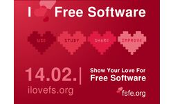 #ilovefs - I love Free Software Day -  February 14 - gnulinux.ro