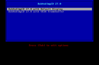 BakAndImgCD 27.0 released GNU/Linux.ro