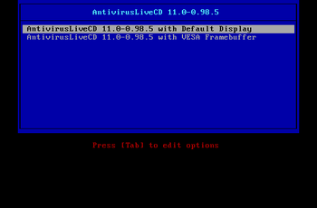 Antivirus Live CD 27.0-0.100.2 released GNU/Linux.ro