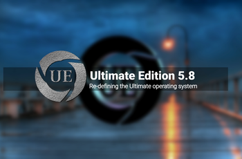 Ultimate Edition 5.8 - built from the Ubuntu 18.04 Bionic Beaver  gnulinux.ro