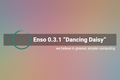 Enso 0.3.1 - Dancing Daisy - Designed with simplicity in mind - gnulinux.ro