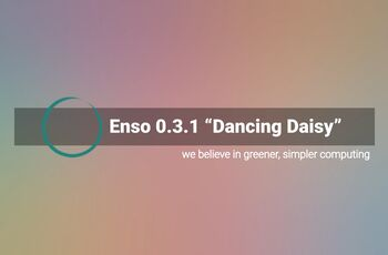 Enso 0.3.1 - Dancing Daisy - Designed with simplicity in mind  gnulinux.ro