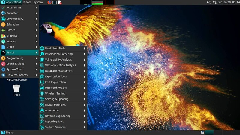 Parrot Security OS GNU/Linux.ro