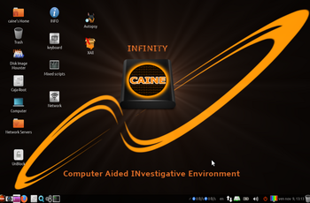 CAINE 10.0 Infinity - release gnulinux.ro