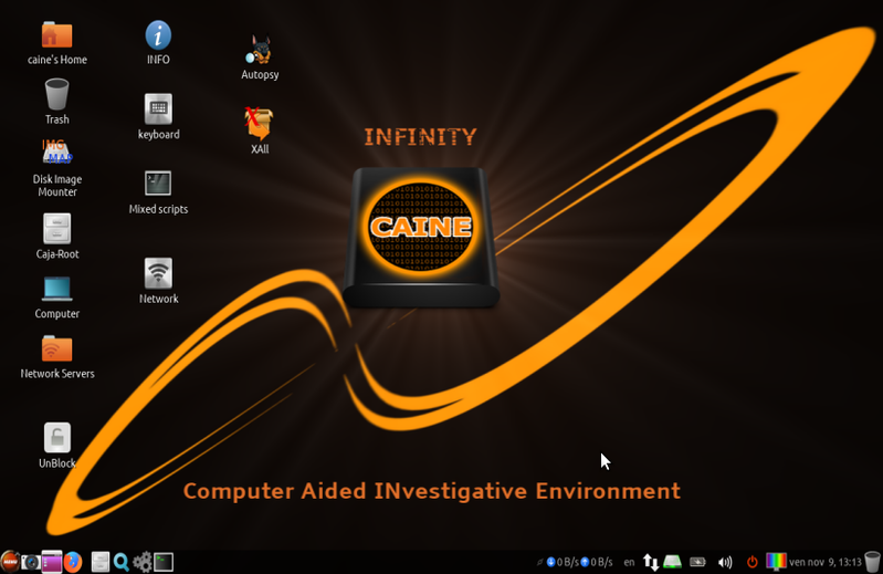 CAINE GNU/Linux.ro