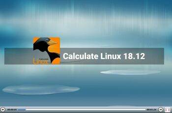 Calculate Linux 18.12  gnulinux.ro