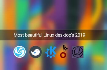 Most beautiful Linux desktops 2019  gnulinux.ro
