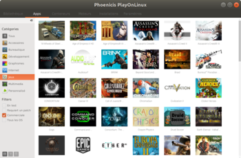 PlayOnLinux 5.0 Alpha Released - Redesenare UI gnulinux.ro
