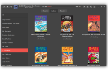Cozy Audiobook Player - audiobook player pentru Linux GNU/Linux.ro