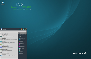 MX Linux 18.1 - improspatare ISO gnulinux.ro